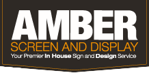 Amber Screen and Display Main Logo